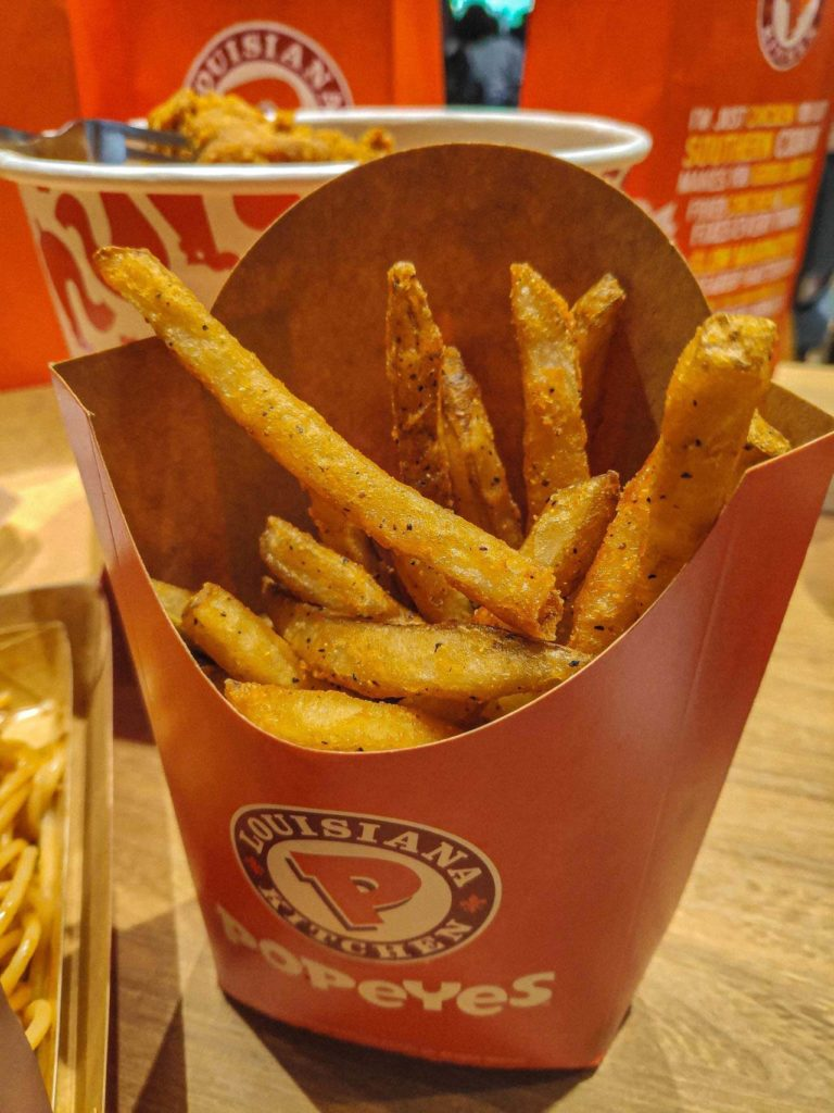 Popeyes Fries