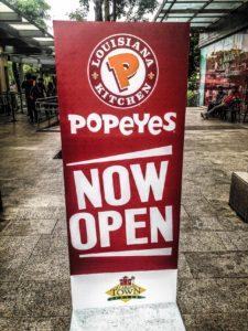 Popeyes Poster