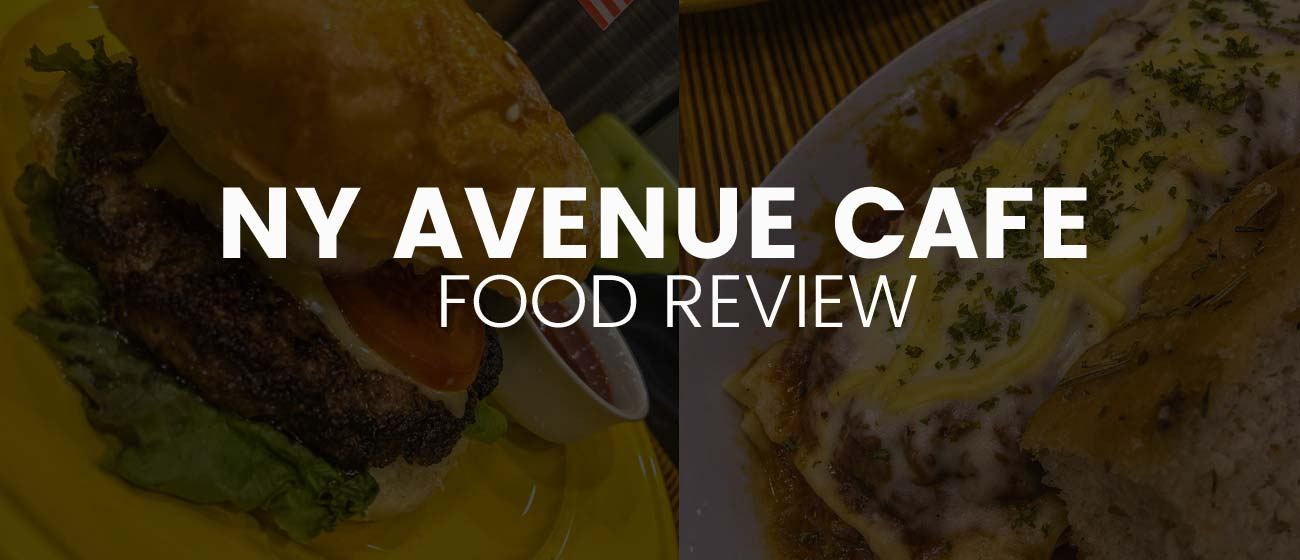 NY Avenue Cafe: Homeburger