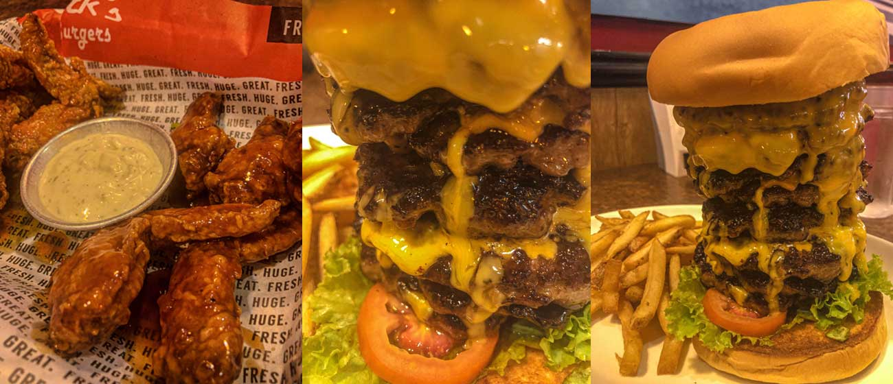Zark's Burger: A Must Try 1-Foot Burger
